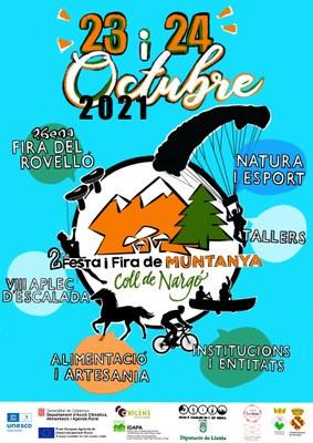 Festa i Fira de Muntanya a Coll de Nargó 2021