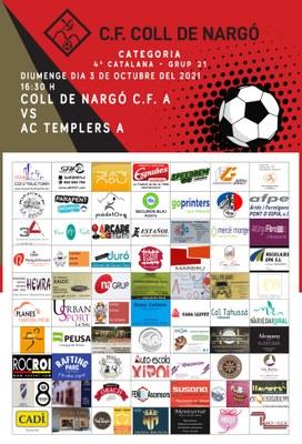 Primer partit de lliga com a locals del Club de Futbol Coll de Nargó!